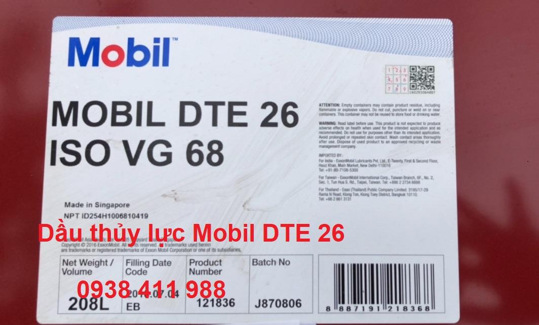 Giá Dầu thủy lực Mobil DTE 26
