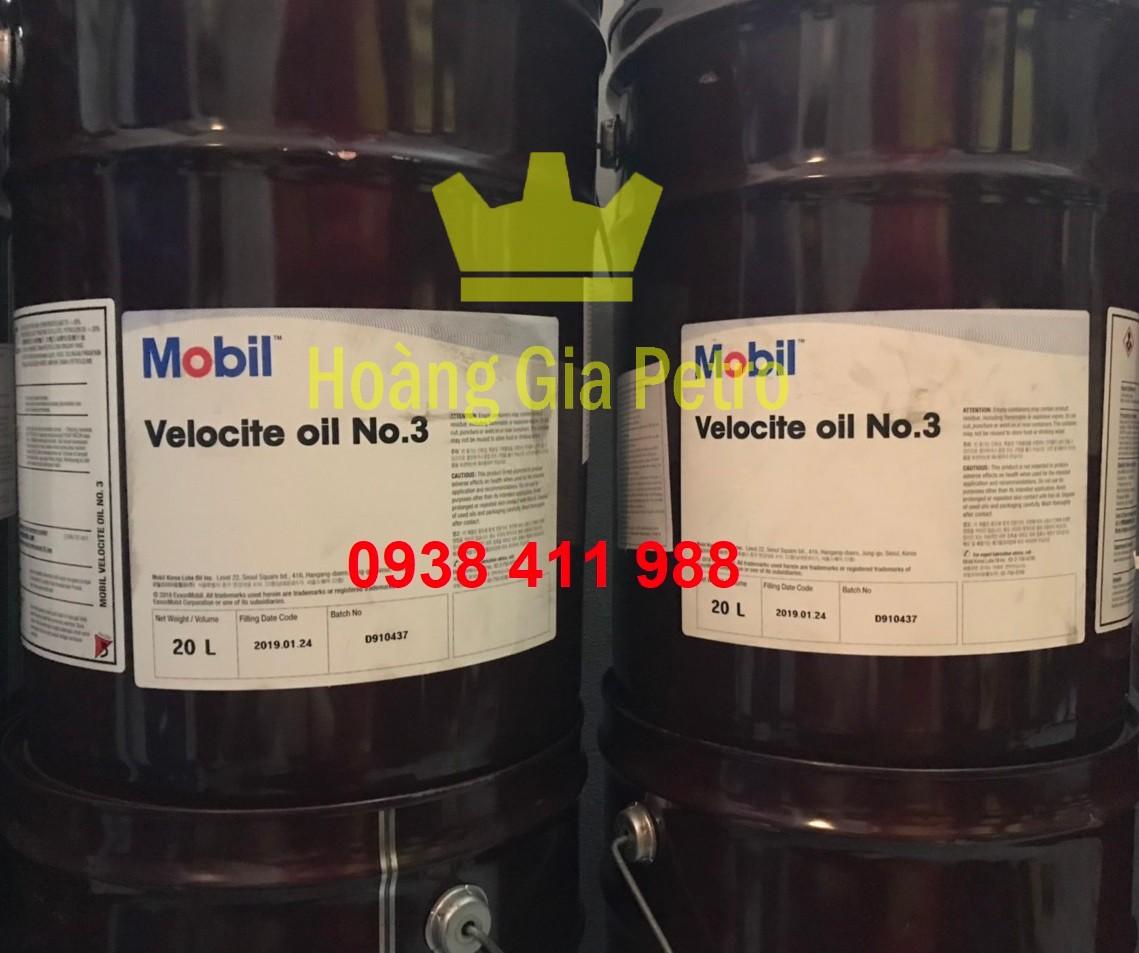 Giá Dầu thủy lực trục chính Mobil Velocite No.3